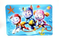 PAW PATROL -  PLACEMAT - THREE HEROES
