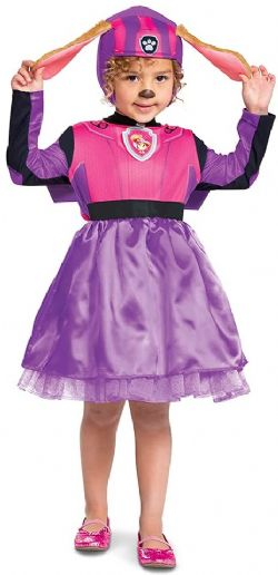 PAW PATROL -  SKYE DELUXE COSTUME (TODDLER - SMALL 2T)