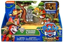 PAW PATROL -  TRACKER & MANDY FIGURE