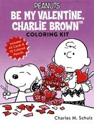 PEANUTS -  BE MY VALENTINE CHARLIE BROWN COLORING KIT
