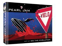 PEARL JAM -  ART OF DO THE EVOLUTION HC