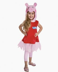 PEPPA PIG -  PEPPA PIG COSTUME (CHILD)