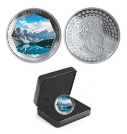 PETER MCKINNON PHOTO SERIES -  MORAINE LAKE -  2019 CANADIAN COINS 01