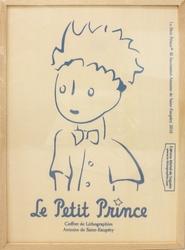 PETIT PRINCE, LE -  COFFRET DE LITHOGRAPHIES ANTOINE DE SAINT-EXUPÉRY