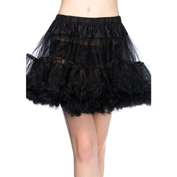 PETTICOAT -  BLACK PETTICOAT (WOMEN - ONE-SIZE)