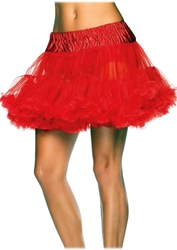 PETTICOAT -  RED PETTICOAT (WOMEN - ONE-SIZE)