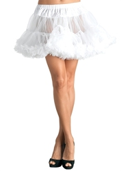 PETTICOAT -  WHITE PETTICOAT (WOMEN - ONE-SIZE)