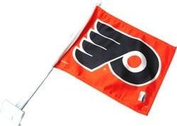 PHILADELPHIA FLYERS -  CAR FLAG