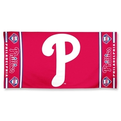 PHILADELPHIA PHILLIES -  BEACH TOWEL (30