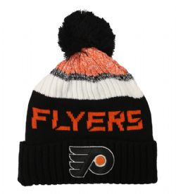 PHILADELPHIE FLYERS -  BEANIE WITH POMPOM - BLACK