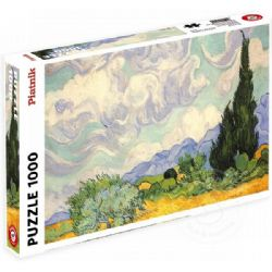 PIATNIK -  WHEAT FIELD WITH CYPRESSES (1000 PIECES)