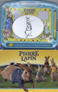 PIERRE LAPIN -  LIVRE + ARDOISE MAGIQUE