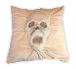 PILLOW -  HAUNTED FACE PILLOW