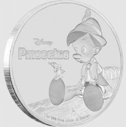 PINOCCHIO -  PINOCCHIO -  2018 NEW ZEALAND MINT COINS