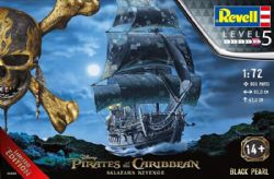 PIRATES OF THE CARIBBEAN -  BLACK PEARL 1/72 LIMITED EDITION (SKILL LEVEL 5)