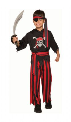 PIRATES -  PIRATE MATEY COSTUME (CHILD)