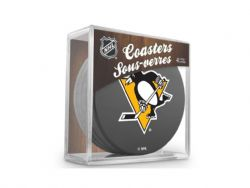 PITTSBURGH PENGUINS -  4-PACK COASTER SET