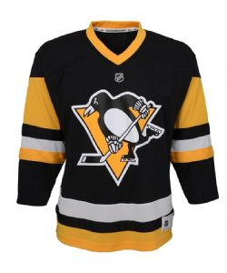 PITTSBURGH PENGUINS -  REPLICA JERSEY BLACK (JUNIOR)