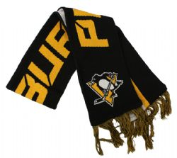 PITTSBURGH PENGUINS -  SCARF - BLACK
