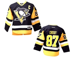PITTSBURGH PENGUINS -  SYDNEY CROSBY #87 - REPLICA JERSEY (YOUTH)
