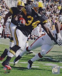 PITTSBURGH STEELERS -  RASHARD MENDENHALL PHOTO #34 (8 X 10)