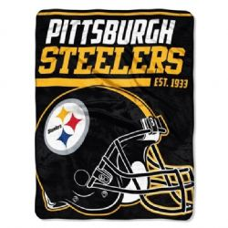 PITTSBURGH STEELERS -  SUPER SOFT THROW (46