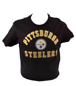 PITTSBURGH STEELERS -  T-SHIRT - BLACK