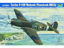PLANE -  CURTISS P-40B WARHAWK (TOMAHAWK MKIIA) 1/32 (MODERATE)