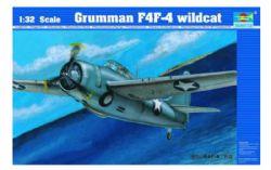 PLANE -  GRUMMAN F4F-4 WILDCAT 1/32 (CHALLENGING)
