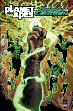 PLANET OF APES GREEN LANTERN -  PLANET OF APES GREEN LANTERN TP