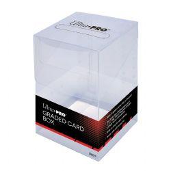 PLASTIC DECK BOX -  10 GRADED CARDS
