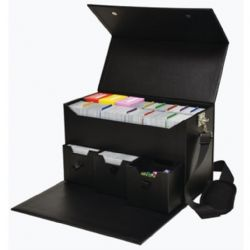 PLASTIC DECK BOX -  ADVENTURE CHEST (CARD CARRYING CASE) (1200)