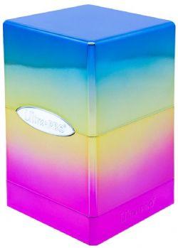 PLASTIC DECK BOX -  DECK BOX SATIN TOWER - RAINBOW (100)