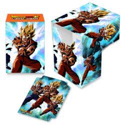 PLASTIC DECK BOX -  DRAGON BALL SUPER - SON GOKU, SON GOHAN, SON GOTEN (60)