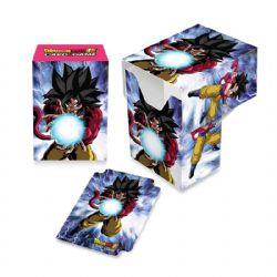 PLASTIC DECK BOX -  DRAGON BALL SUPER - SUPER SAIYAN 4 GOKU (60)