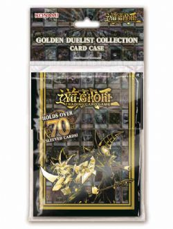 PLASTIC DECK BOX -  GOLDEN DUELIST DECK BOX (70) -  YU-GI-OH!