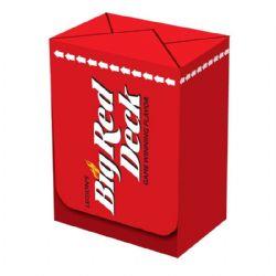 PLASTIC DECK BOX -  LEGION - TOP LOAD - 100 - BIG RED DECK