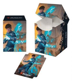 PLASTIC DECK BOX -  MTG - 100+ - JACE, MIRROR MAGE -  ZENDIKAR RISING