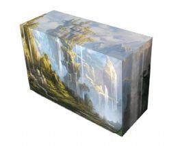 PLASTIC DECK BOX -  MTG - DOUBLE DECKBOX - OASIS (200)