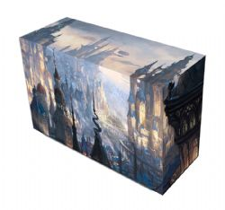 PLASTIC DECK BOX -  MTG - DOUBLE DECKBOX - SAINT LEVIN (200)