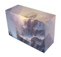 PLASTIC DECK BOX -  MTG - DOUBLE DECKBOX - VAST (200)