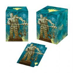 PLASTIC DECK BOX -  MTG THEROS BEYOND DEATH - CALIX ALTERNATE ART - TOP LOAD (100)