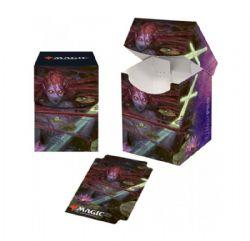 PLASTIC DECK BOX -  MTG THRONE OF ELDRAINE - EMRY, LURKER OF THE LOCH - TOP LOAD (100)