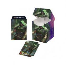 PLASTIC DECK BOX -  MTG THRONE OF ELDRAINE - GARRUCK, CURSED HUNTSMAN - TOP LOAD (100)