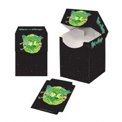 PLASTIC DECK BOX -  RICK AND MORTY (100)