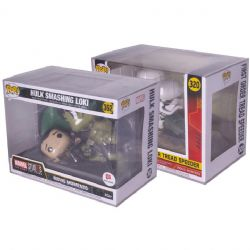PLASTIC PROTECTOR -  CLEAR PLASTIC PROTECTOR FOR FUNKO POP - MOVIE MOMENT SIZE