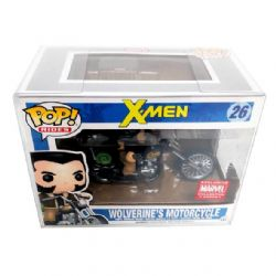 PLASTIC PROTECTOR -  FUNKO POP 4 INCHES PROTECTOR 0.40 MM FOR WOLVERINE MOTORCYCLE, GHOST RIDER & DARYL DIXON TWD