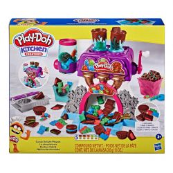 PLAY-DOH -  CANDY DELIGHT PLAYSET -  KITCHEN CREATIONS