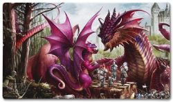 PLAY MAT -  DRAGON SHIELD - FATHER'S DAY DRAGON - 24