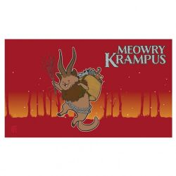PLAY MAT -  LEGION - MEOWRY KRAMPUS - 24